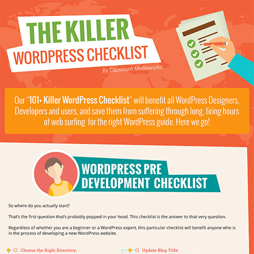 Killer Website Checklist 500